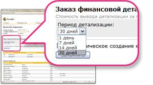 Как сделать детализацию счёта билайн